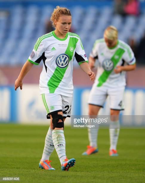 Josephine Henning of VfL Wolfsburg looks despondent during the UEFA Women's Champions Final match between Tyreso FF and Wolfsburg at Do Restelo...