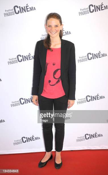 Josephine Japy attends Closing Awards Ceremony of Festival Paris Cinema on July 11 2011 in Paris France