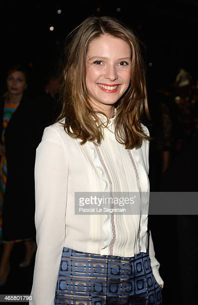 Josephine Japy attends the Valentino show as part of the Paris Fashion Week Womenswear Fall/Winter 2015/2016 on March 10 2015 in Paris France
