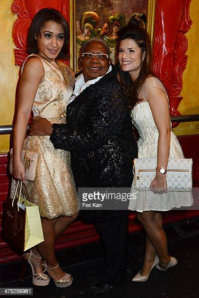 Josephine Jobert a comedian and Flavie Pean attend the Christophe Guillarme show as part of the Paris Fashion Week Womenswear Fall/Winter 20142015 at...
