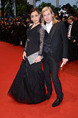 Josephine Jobert and Christophe Guillarme at the premiere for 'Amour' during the 65th Cannes International Film Festival