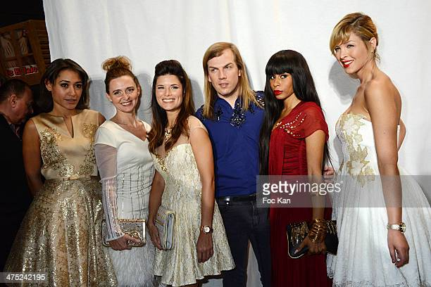 Josephine Jobert Annabelle Millot Flavie Pean Christophe Guillarme Mia Frye and Eleonore Boccara attend the Christophe Guillarme show as part of the...