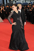 Josephine Jobert at the premiere for 'Amour' during the 65th Cannes International Film Festival