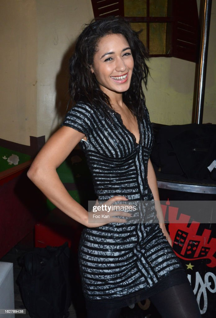 Josephine Jobert attends the Christophe Guillarme Fall/Winter 2013 Ready-to-Wear show as part of Paris Fashion Week on February 26, 2013 in Paris, France.