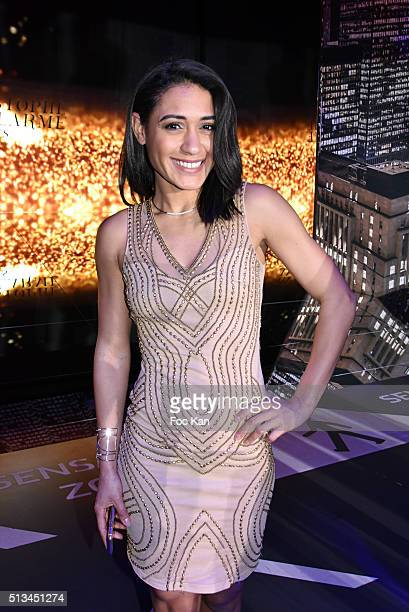 Josephine Jobert attends the Christophe Guillarme show as part of the Paris Fashion Week Womenswear Fall/Winter 2016/2017 on March 2 2016 in Paris...