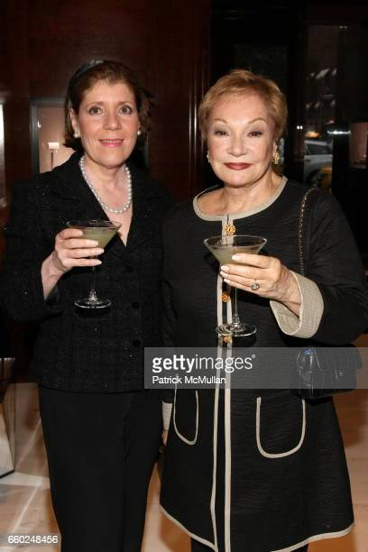 Josephine Kairis and Carole Gratale attend The Private Unveiling of GRAFF Time Watch Collection 1 at Graff on June 11 2009 in New York City
