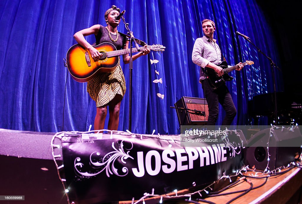 Josephine performs supporting Paloma Faith at Wolverhampton Civic Hall on February 2, 2013 in Wolverhampton, England.