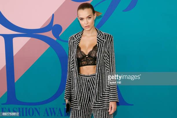 Josephine Skriver attends the 2017 CFDA Fashion Awards at Hammerstein Ballroom on June 5 2017 in New York City