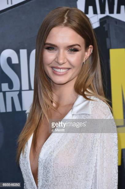 Josephine Skriver attends the 2017 CMT Music Awards at the Music City Center on June 7 2017 in Nashville Tennessee