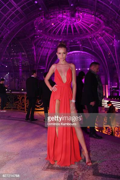 Josephine Skriver attends the Victoria's Secret After Party at the Grand Palais on November 30 2016 in Paris France
