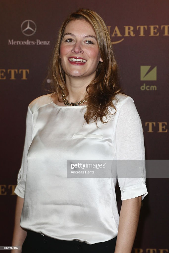 Josephine Thiel attends the premiere of 'Quartet' at Deutsche Oper on January 20, 2013 in Berlin, Germany.