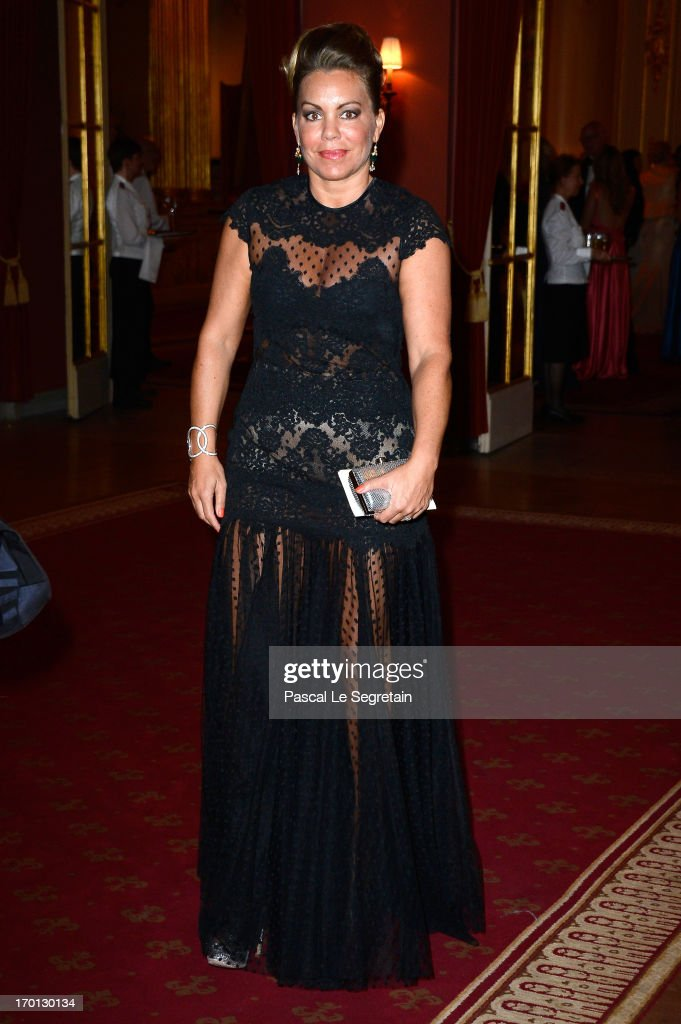 Josephine Zapata Genetay attends a private dinner on the eve of the wedding of Princess Madeleine and Christopher O'Neill hosted by King Carl XVI Gustaf and Queen Silvia at The Grand Hotel on June 7, 2013 in Stockholm, Sweden.
