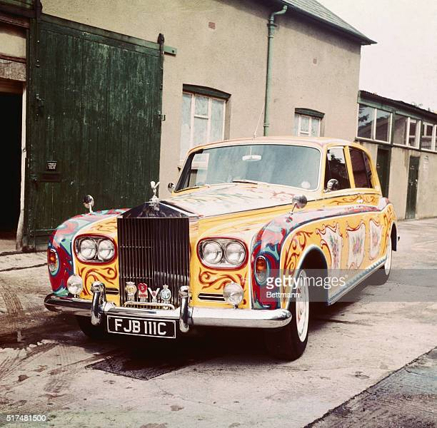 Joseph's coat of many colors was all right for biblical times but in these stringent times only a Rolls Royce will do for the allegorical value Where...