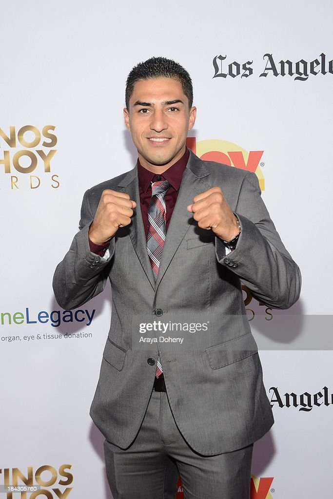 Josesito Lopez attends the 2013 Latinos de Hoy Awards at Los Angeles Times' Chandler Auditorium on October 12, 2013 in Los Angeles, California.