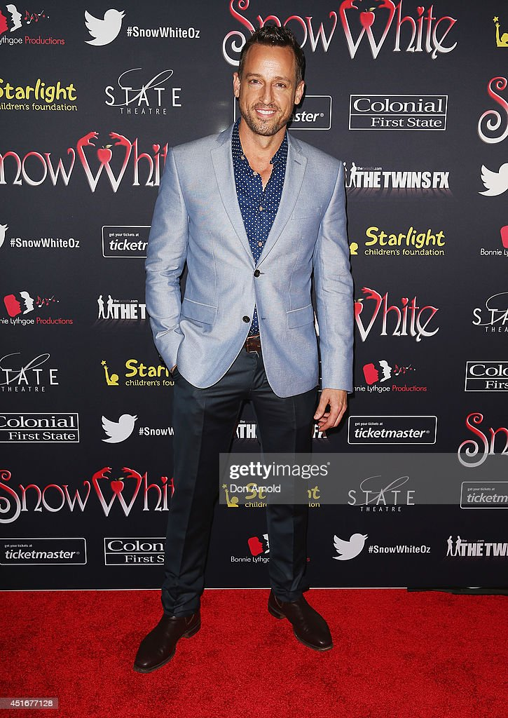 Josh Adamson attends the media call for Snow White Winter Family Musical at the State Theatre on July 4, 2014 in Sydney, Australia.