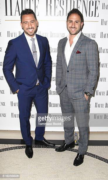 Josh Altman and Matt Altman attend the Haute Residence Los Angeles Luxury Real Estate Summit 2016 on March 16 2016 in West Hollywood California