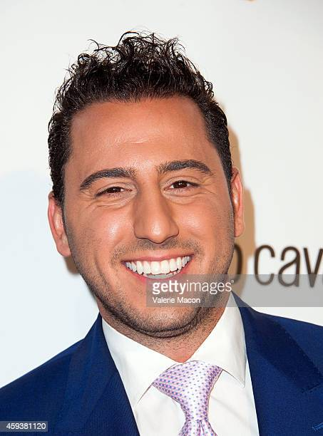 Josh Altman arrives at the 12th Annual Lupus LA Hollywood Bag Ladies Luncheon at The Beverly Hilton Hotel on November 21 2014 in Beverly Hills...