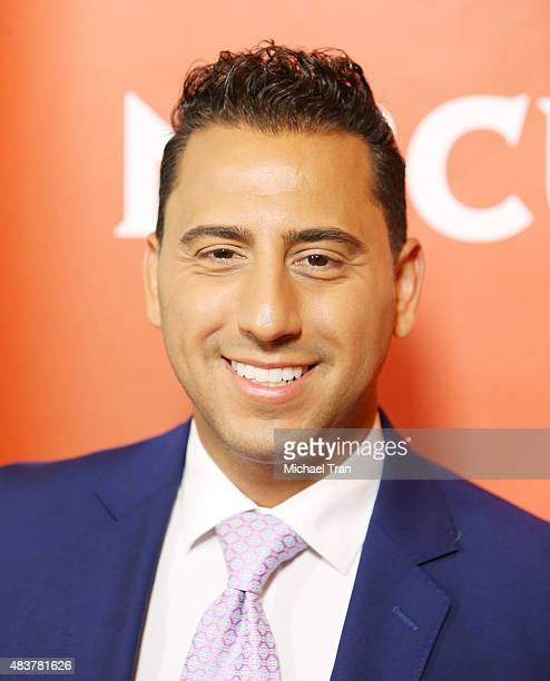 Josh Altman arrives at the NBCUniversal Press Tour 2015 day 1 held at The Beverly Hilton Hotel on August 12 2015 in Beverly Hills California