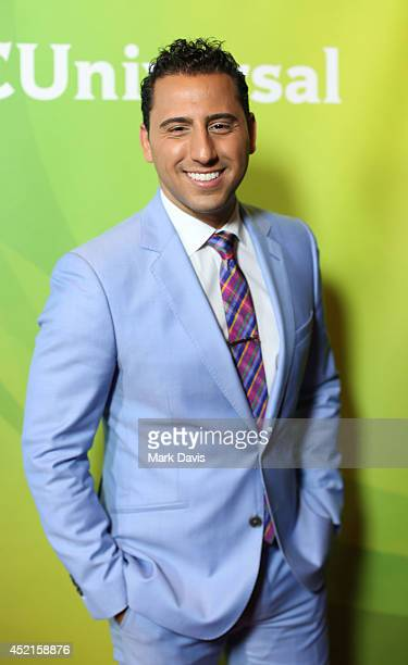 Josh Altman attends NBCUniversal's 2014 Summer TCA Tour day 2 at The Beverly Hilton Hotel on July 14 2014 in Beverly Hills California