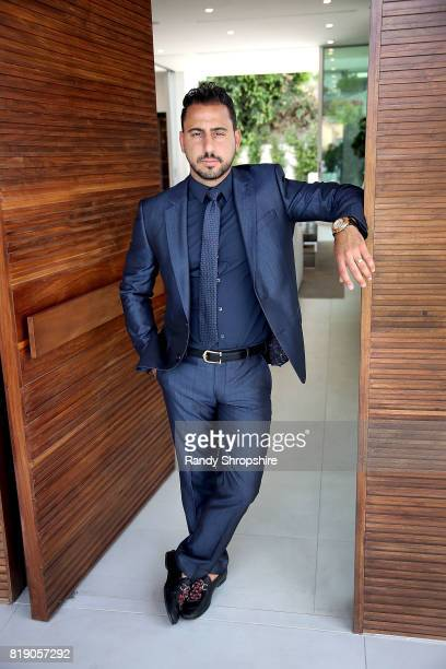 Josh Altman of 'Million Dollar Listing' hosts a showing on July 19 2017 in Los Angeles California