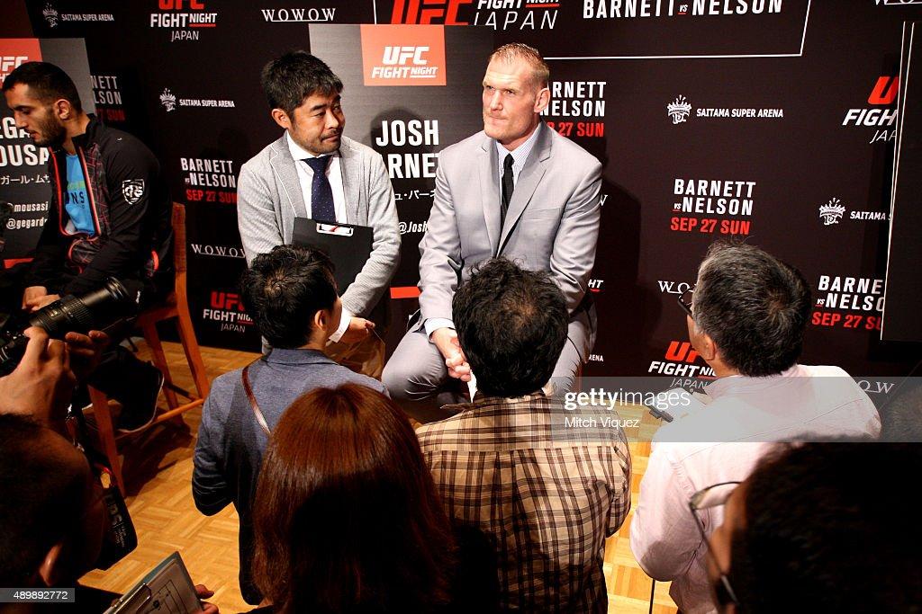 UFC Ultimate Media Day Tokyo