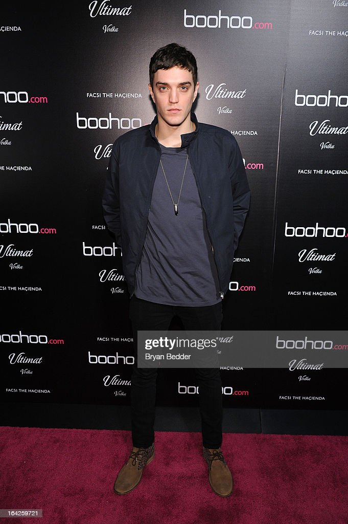 Josh Beech attends the boohoo US Launch - The Hacienda with Shenae Grimes & Josh Beech on March 21, 2013 in New York City.
