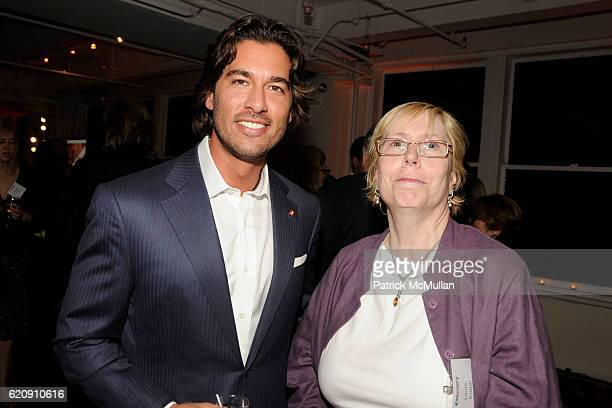 Josh Bernstein and Lois Kobal attend INTO THE UNKNOWN with JOSH BERNSTEIN Party hosted by DISCOVERY CHANNEL at Westside Loft on August 13 2008 in New...