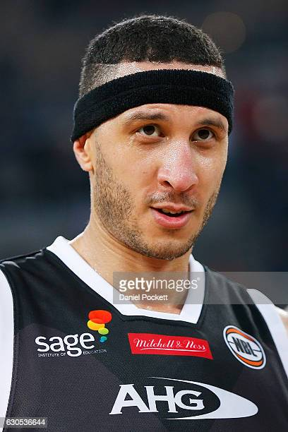 Josh Boone of Melbourne United looks up court during the round 12 NBL match between Melbourne and Brisbane at Hisense Arena on December 26 2016 in...