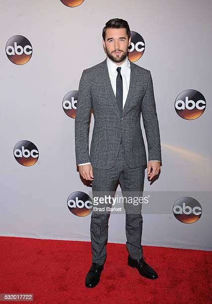 Josh Bowman attends the 2016 ABC Upfront at David Geffen Hall on May 17 2016 in New York City
