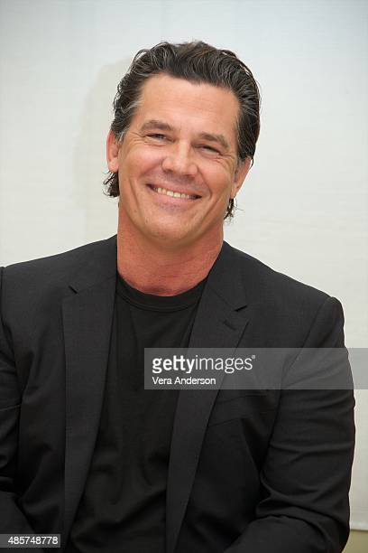 Josh Brolin at the 'Everest' Press Conference at the Four Seasons Hotel on August 27 2015 in Beverly Hills California