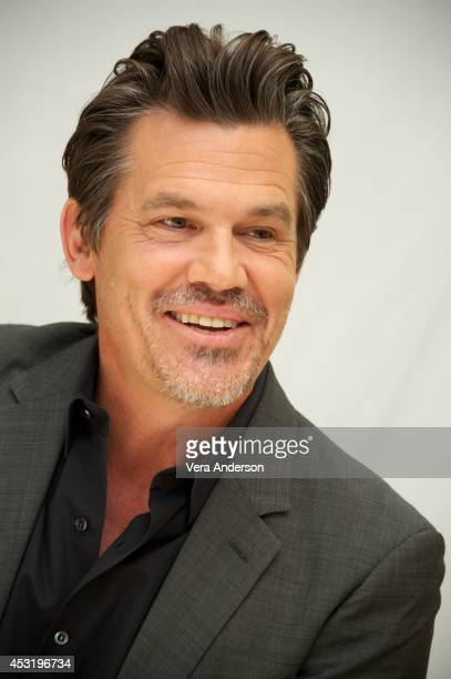 Josh Brolin at the 'Sin City A Dame To Kill For' Press Conference at the Four Seasons Hotel on August 2 2014 in Beverly Hills California