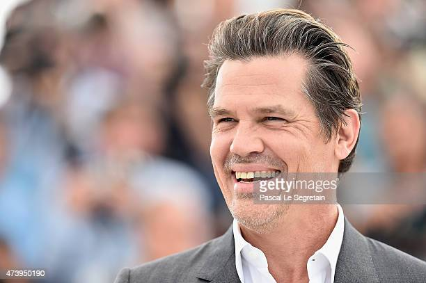 Josh Brolin attends a photocall for 'Sicario' during the 68th annual Cannes Film Festival on May 19 2015 in Cannes France