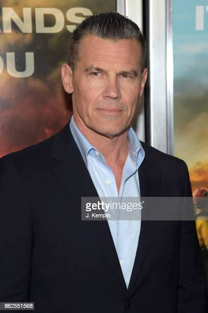 Josh Brolin attends 'Only The Brave' screening at iPic Theater on October 17 2017 in New York City