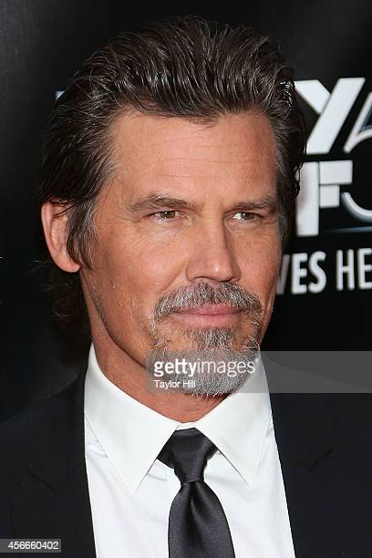 Josh Brolin attends the Centerpiece Gala Presentation And World Premiere Of 'Inherent Vice' during the 52nd New York Film Festival at Alice Tully...