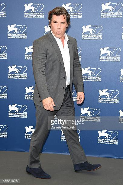 Josh Brolin attends the 'Everest' photocall during the 72nd Venice Film Festival on September 2 2015 in Venice Italy
