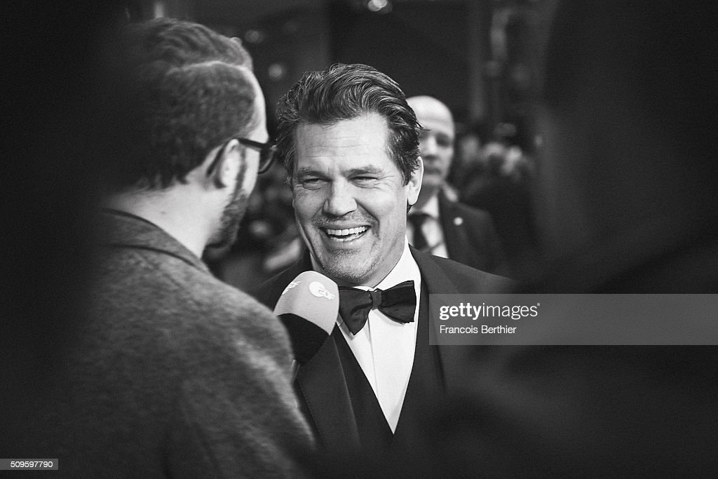 <a gi-track='captionPersonalityLinkClicked' href=/galleries/search?phrase=Josh+Brolin&family=editorial&specificpeople=243198 ng-click='$event.stopPropagation()'>Josh Brolin</a> attends the 'Hail, Caesar!' premiere at Berlinale Palace during the 66th Berlinale International Film Festival on February 11, 2016 in Berlin, Germany.