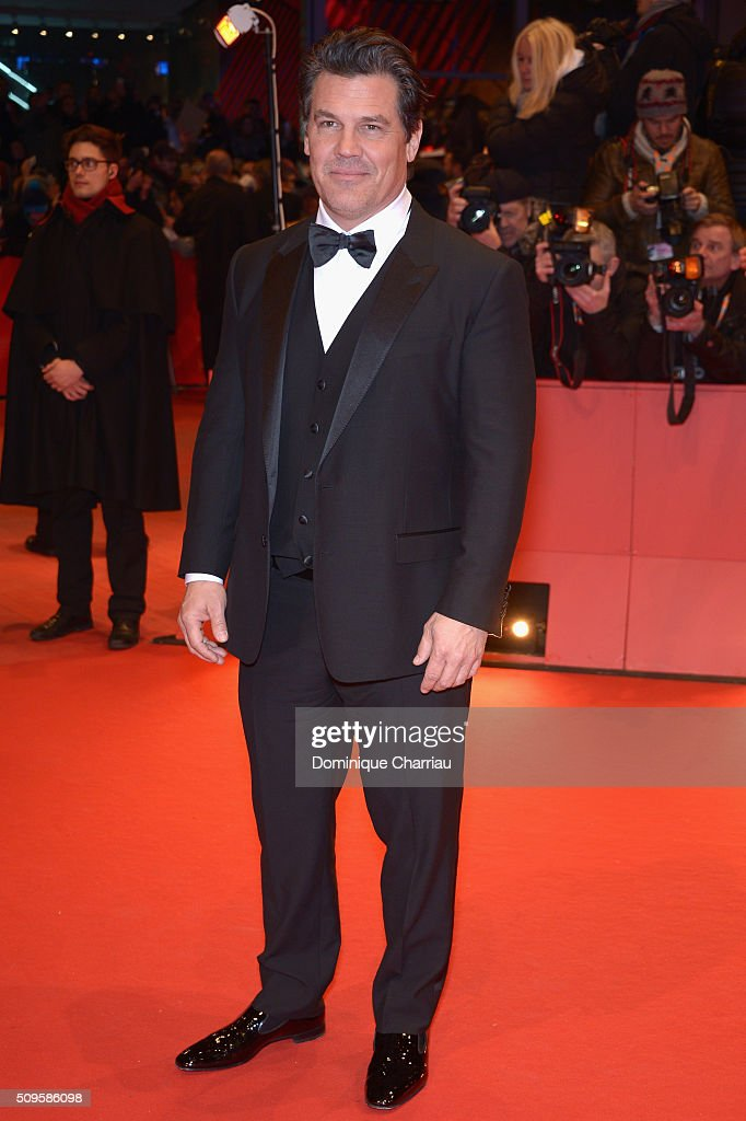 <a gi-track='captionPersonalityLinkClicked' href=/galleries/search?phrase=Josh+Brolin&family=editorial&specificpeople=243198 ng-click='$event.stopPropagation()'>Josh Brolin</a> attends the 'Hail, Caesar!' premiere during the 66th Berlinale International Film Festival Berlin at Berlinale Palace on February 11, 2016 in Berlin, Germany.