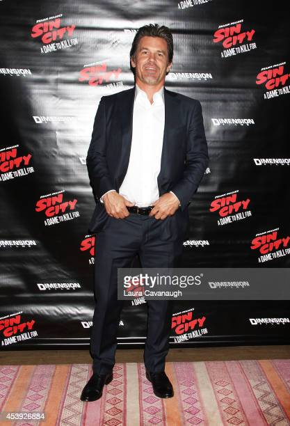 Josh Brolin attends the 'Sin City A Dame To Kill For' Photo Call at Crosby Street Hotel on August 21 2014 in New York City
