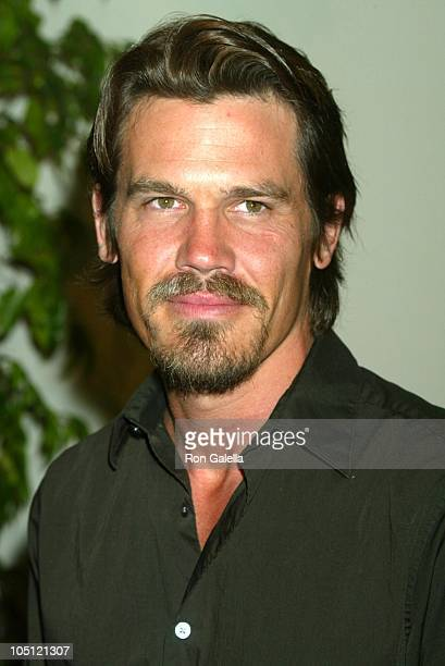 Josh Brolin during 2003 Women In Film Crystal Lucy Awards Sponsored by Marie Claire Arrivals at Century Plaza Hotel in Century City California United...