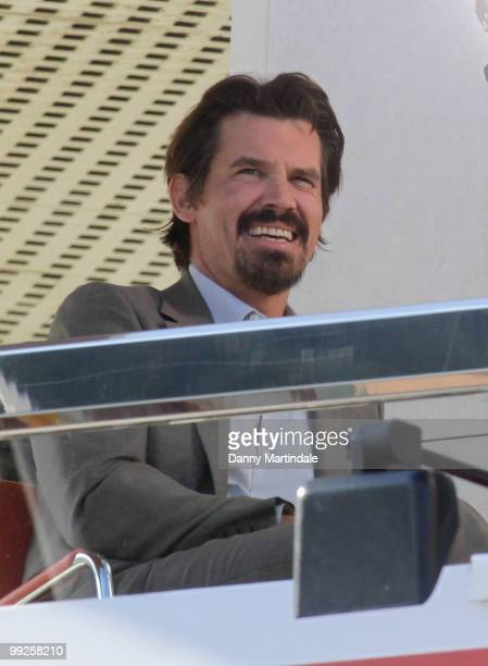 Josh Brolin is seen at the 63rd Cannes Film Festival on May 13 2010 in Cannes France