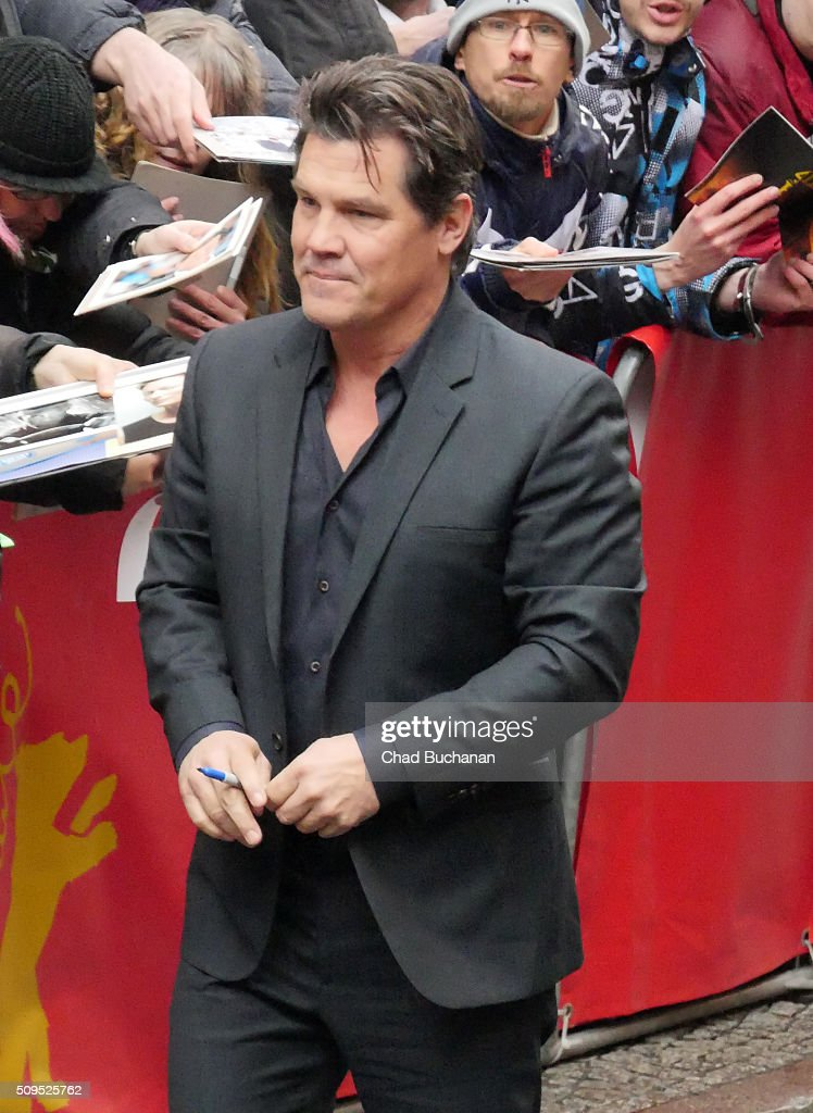 <a gi-track='captionPersonalityLinkClicked' href=/galleries/search?phrase=Josh+Brolin&family=editorial&specificpeople=243198 ng-click='$event.stopPropagation()'>Josh Brolin</a> sighted during the 66th Berlinale International Film Festival Berlin at the Grand Hyatt Hotel on February 11, 2016 in Berlin, Germany.
