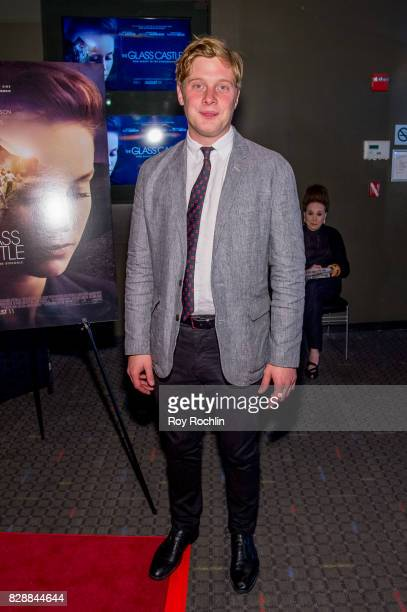 Josh Caras attends 'The Glass Castle' New York screening at SVA Theatre on August 9 2017 in New York City