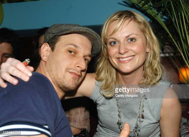 Josh Charles and Amy Poehler during Rashida Jones' 29th Birthday Party at NA at NA in New York City New York United States