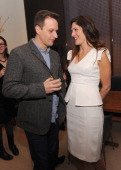Josh Charles and Co producer/director Lori Silverbush attend the Bank Of America And Food Wine With The Cinema Society Screening Of 'A Place At The...