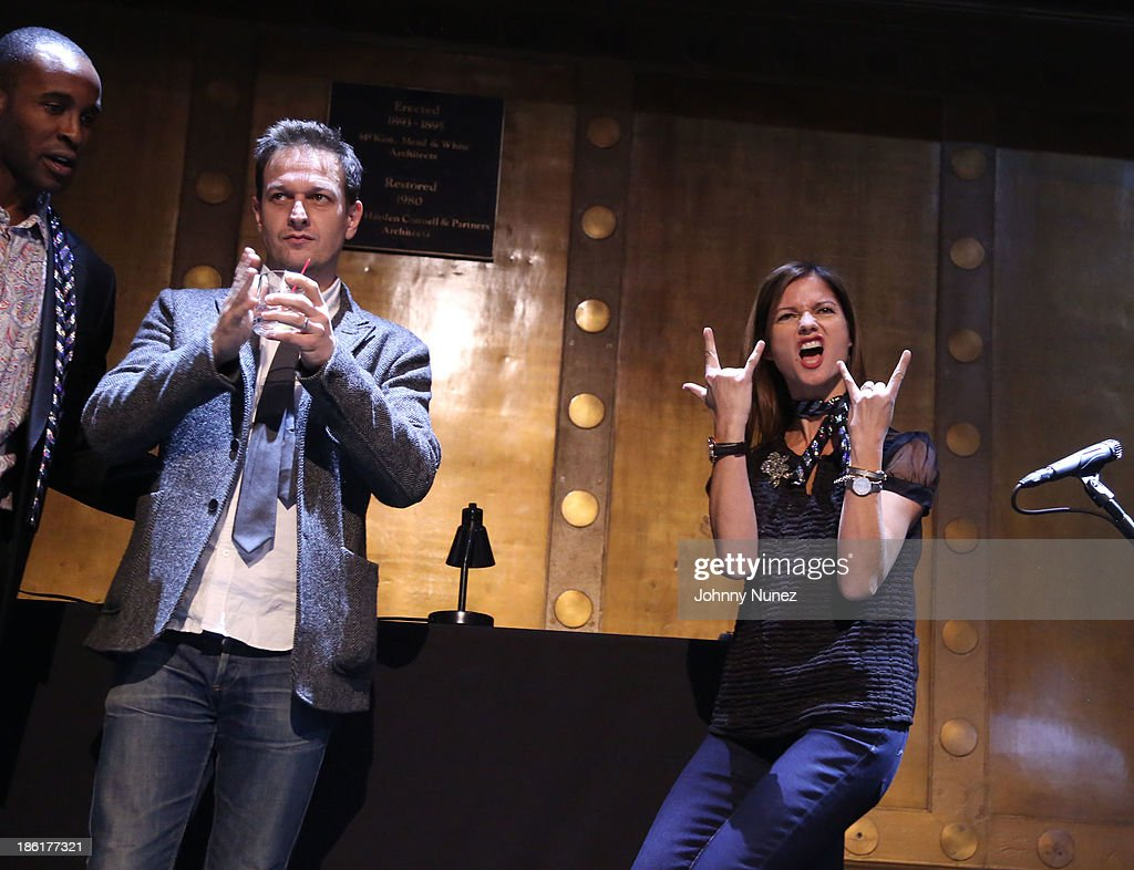 <a gi-track='captionPersonalityLinkClicked' href=/galleries/search?phrase=Josh+Charles&family=editorial&specificpeople=240614 ng-click='$event.stopPropagation()'>Josh Charles</a> and <a gi-track='captionPersonalityLinkClicked' href=/galleries/search?phrase=Jill+Hennessy&family=editorial&specificpeople=210636 ng-click='$event.stopPropagation()'>Jill Hennessy</a> attend the LAByrinth Theater Company Celebrity Charades 2013 benefit gala at Capitale on October 28, 2013 in New York City.
