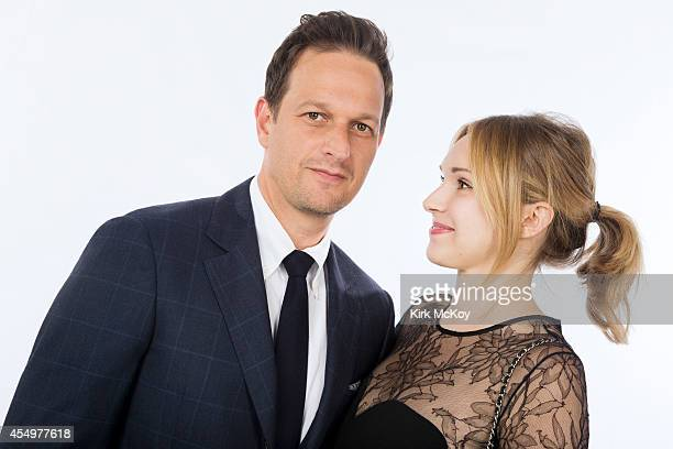 Josh Charles and Sophie Flack are photographed for Los Angeles Times on August 25 2014 in Los Angeles California PUBLISHED IMAGE CREDIT MUST BE Kirk...