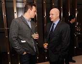 Josh Charles and Tom Colicchio attend the Bank Of America And Food Wine With The Cinema Society Screening Of 'A Place At The Table' After Party at...