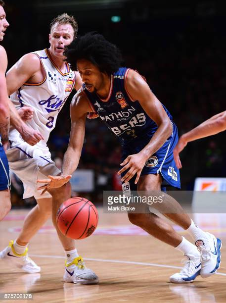 Josh Childress of Adelaide during the round seven NBL match between Adelaide 36ers and the Sydney Kings at Titanium Security Arena on November 18...
