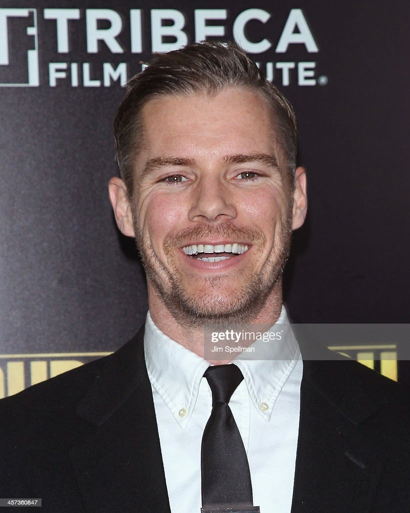 Josh Cowdery attends the 'Grudge Match' screening benifiting the Tribeca Film Insititute at Ziegfeld Theater on December 16, 2013 in New York City.