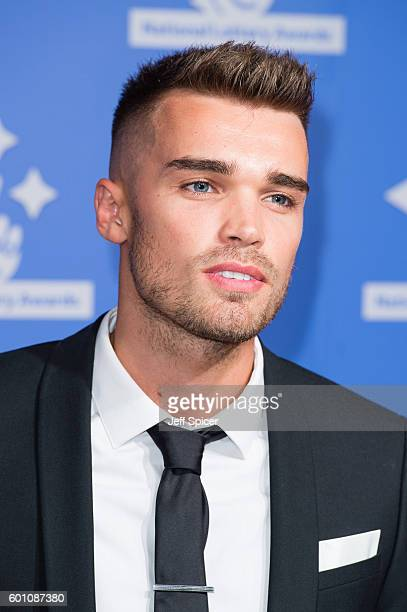 Josh Cuthbert arrives for the National Lottery Awards 2016 at The London Studios on September 9 2016 in London England